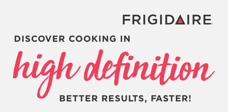 frigidaire high definition cooking